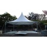 aluguel de estrutura metálica para evento de corrida Belenzinho