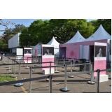 aluguel de tendas para eventos Saúde