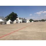 aluguel de tendas para exposições Vinhedo