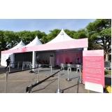 aluguel de tendas para festas e eventos Jardim Paulista