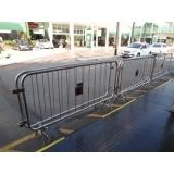 distribuidor de grades de proteção para eventos Ponte Rasa