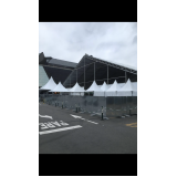 empresa de aluguel de fechamento metálico para eventos Barra Funda