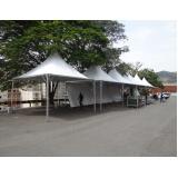 empresa de tendas de lona para eventos Vila Anastácio
