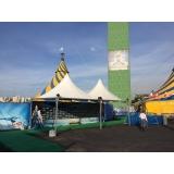 estrutura para feira e evento Vila Formosa