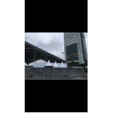 fechamento metálico para eventos São Carlos