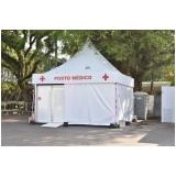 fornecedor de tenda para evento 5x5 Atibaia