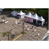 fornecedor de tendas de lona para eventos em sp Vila Dalila