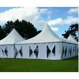 fornecedor de tenda de lona para eventos