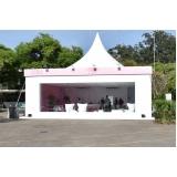 fornecedor de tendas para exposição ao ar livre