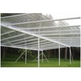 fornecedor de tendas para exposições