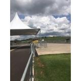 locação de estruturas metálicas para eventos Parque do Carmo