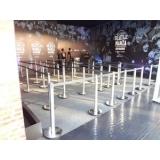 locação de organizador de fila para feiras Engenheiro Goulart
