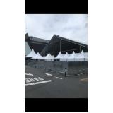 locação de tendas chapéu de bruxa para exposição Alto de Pinheiros