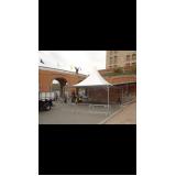locação de tendas e estruturas para eventos Parque São Domingos