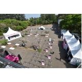 locação de tendas para eventos em sp Campo Limpo