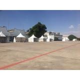 locação de tendas para exposições Presidente Prudente