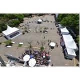 montagem de estrutura metálica para festival preço Suzano
