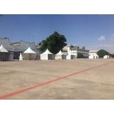 onde encontro distribuidor de estruturas de alumínio para feiras promocionais Mooca