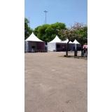 onde encontro fornecedor de tenda de lona para eventos Embu das Artes