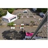 orçamento para locação de tendas para eventos Interlagos