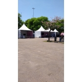 tenda de lona fechada em sp Jardim Europa