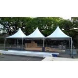 tenda de lona para evento Higienópolis