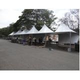 tenda em lona Aclimação