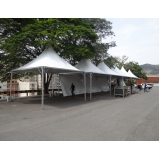tenda para evento Francisco Morato
