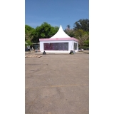 tenda para exposições Parque Peruche