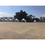 tendas para exposições Raposo Tavares
